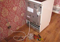 Подключение электроплиты. Минусинские электрики.