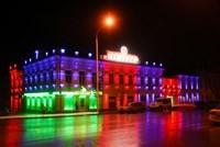 Наружное освещение: архитектурное освещение зданий и фасадов в г.Минусинск